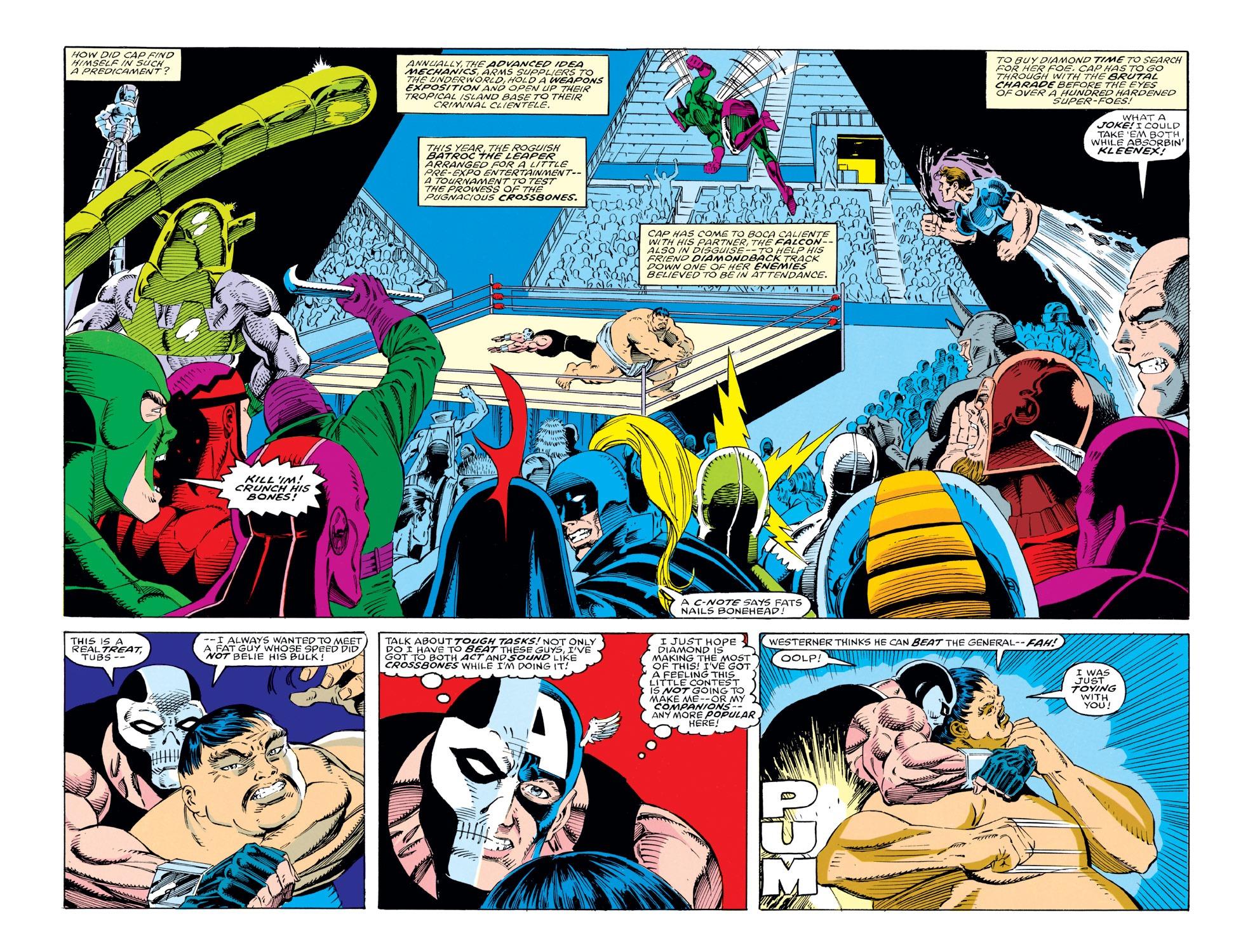 Captain America (1968) Issue #412 #361 - English 3