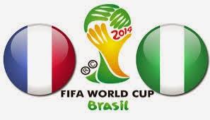Prediksi Hasil Akhir Laga Babak Perdelapan Final World Cup (30/06/14) : Prancis Vs Nigeria