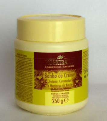Banho de creme hidratação fortalecedora tutano e ceramidas
