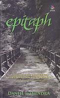 toko buku rahma: buku EPITAPH, pengarang daniel mahendra, penerbit kaki langit kencana