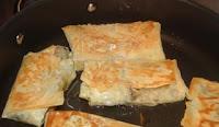 Chinese vegetarian dim sim recipe with dried bean curd skin and vegetarian fillings