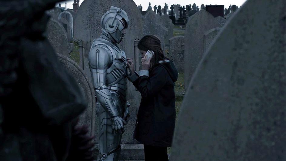 Danny Pink as a Cyberman