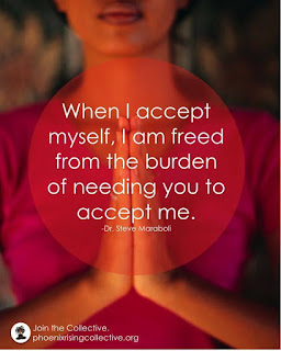 Accept yourself - inspirational life quotes