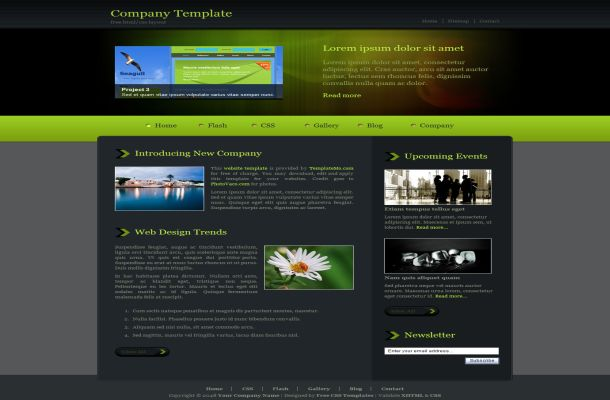 Template4all stock images web design themes templates 3 wajeb Image collections