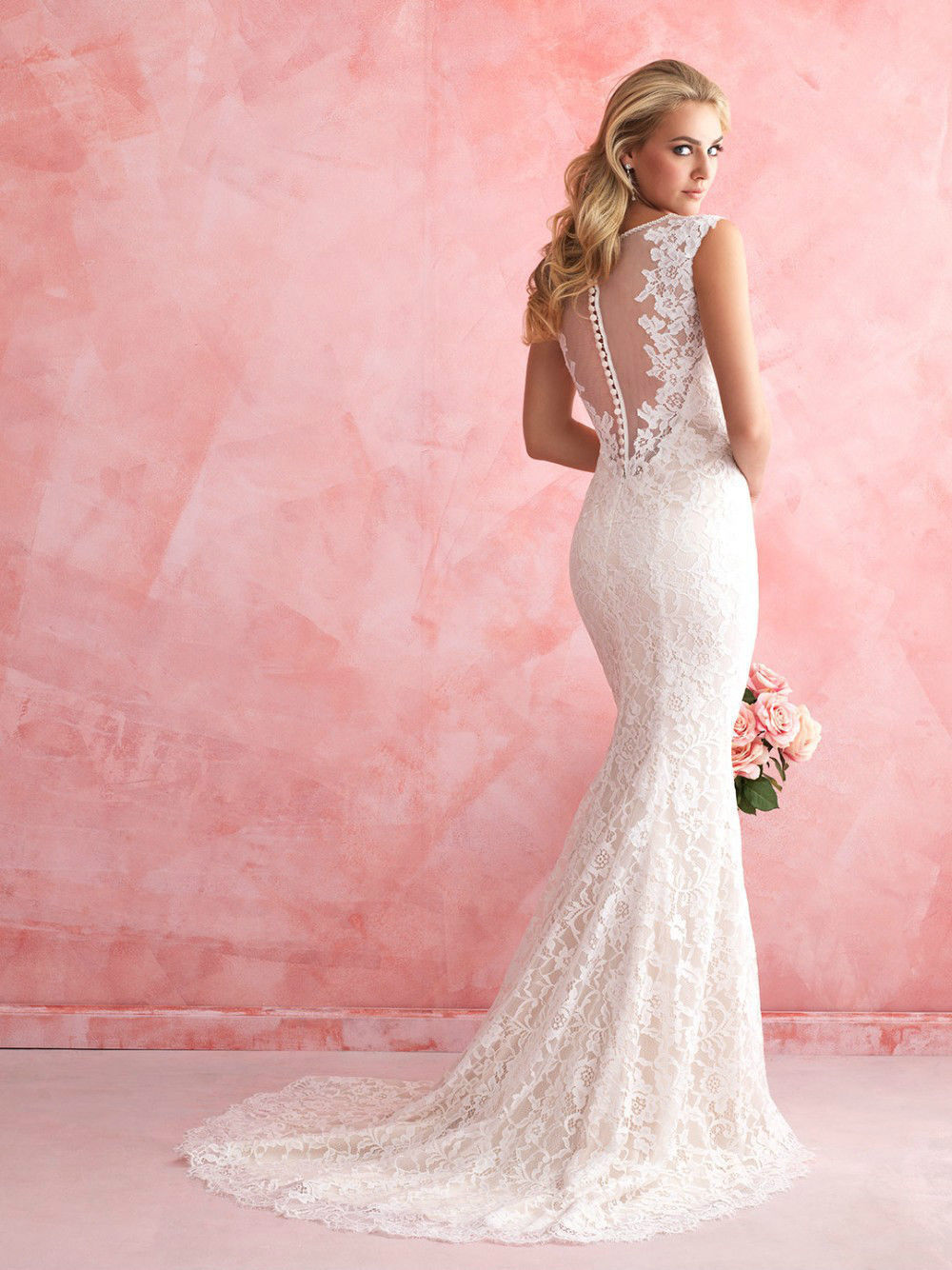 wedding dresses cold climates: My Dream Mermaid Wedding Dress 2015 ...