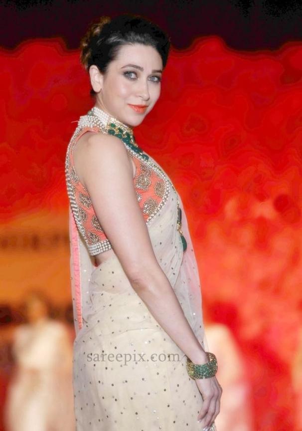 Karishma Kapoor Saree