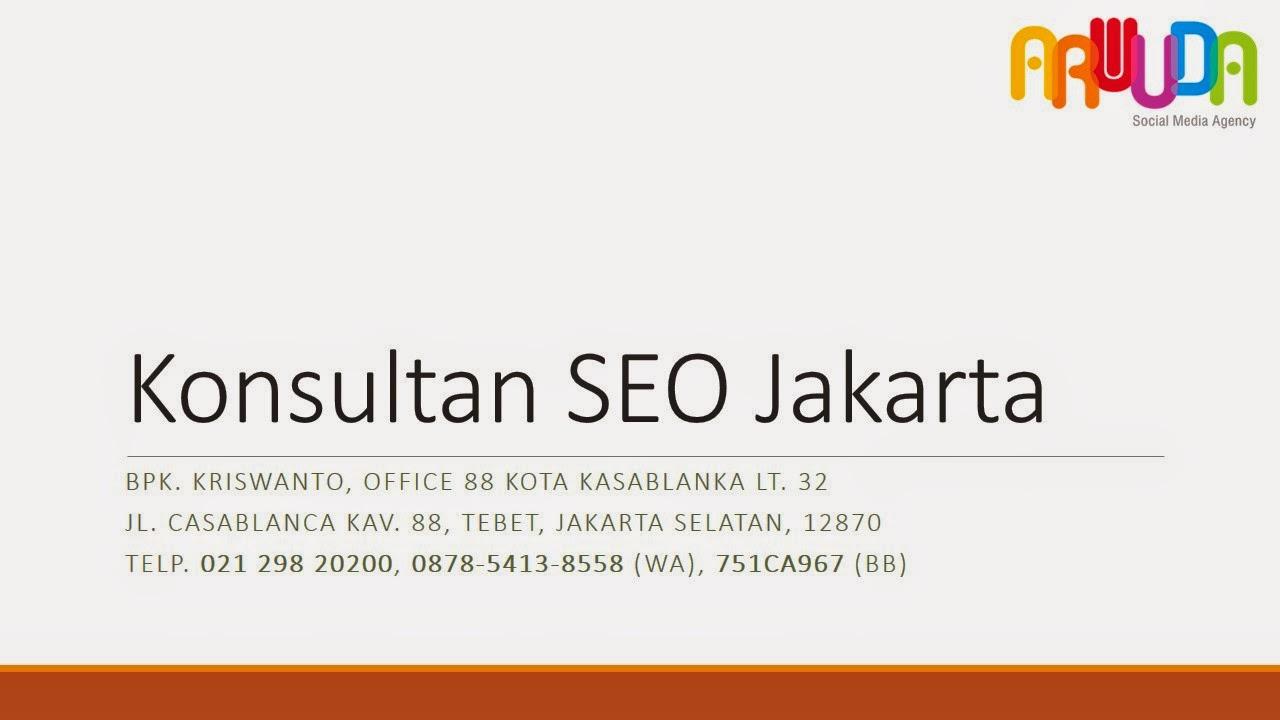 Layanan Jasa SEO Murah Bergaransi Halaman Satu Google Jakarta