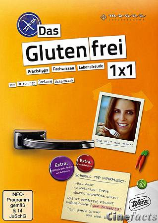 Ratgeber für glutenfreie Ernährung auf DVD