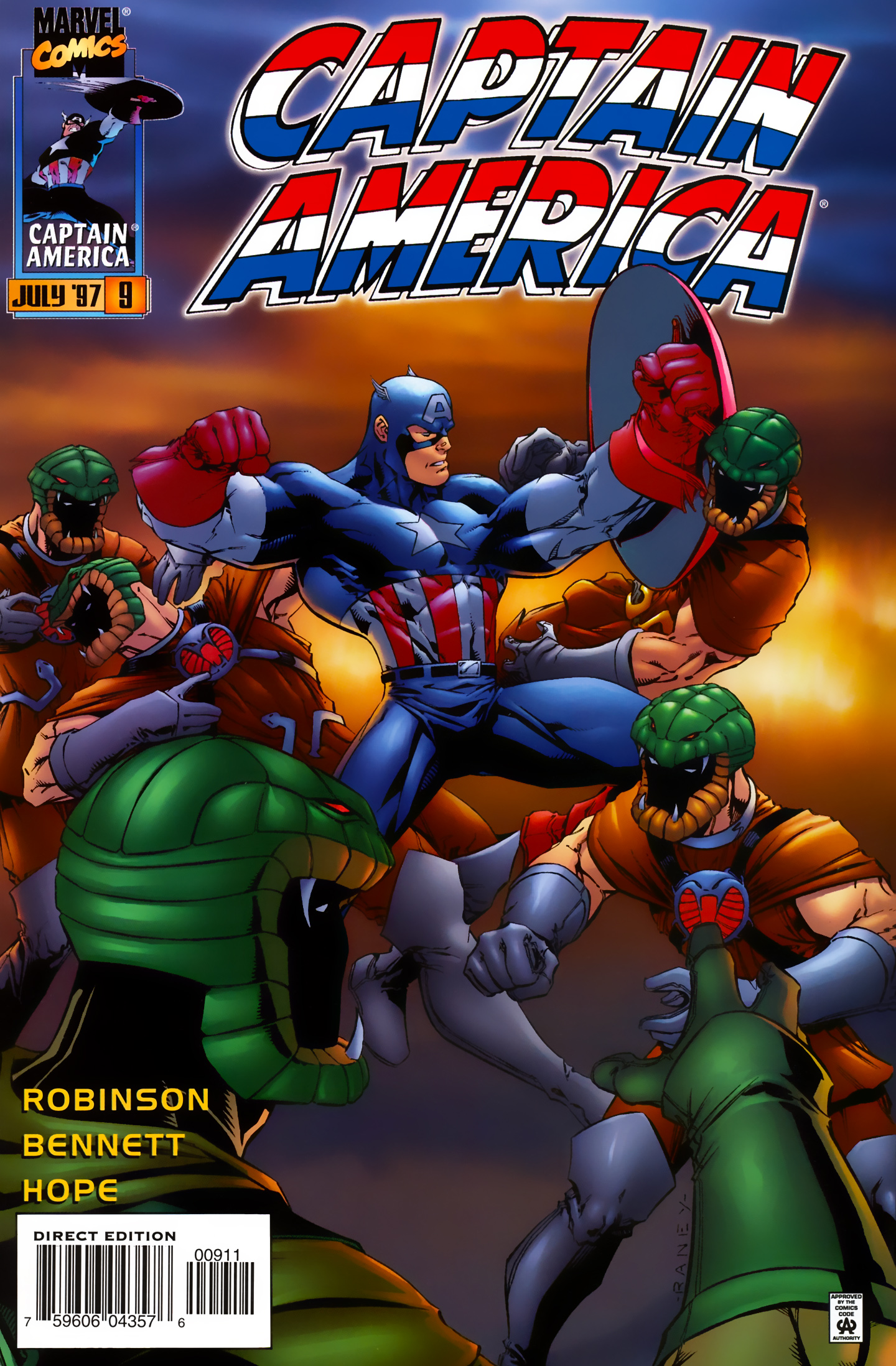 Captain America (1996) Issue #9 #9 - English 1