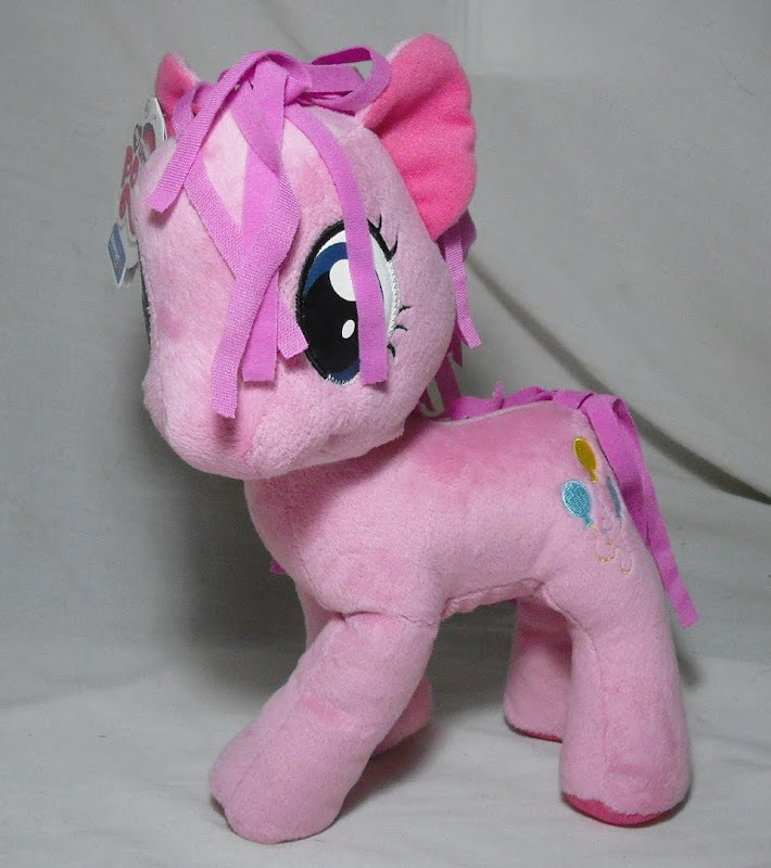 """New 2012 My Little Pony PINKIE PIE 11"""" Official Exclusive Plush NWT Pink"""