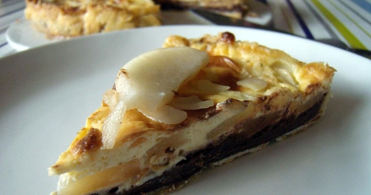 Dey cuisine tarte aux poires chocolat croquant - Poire de terre cuisine ...