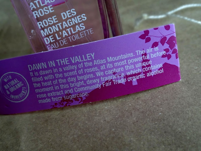 The body shop voyage collection Atlas Mountan Rose Fragrance