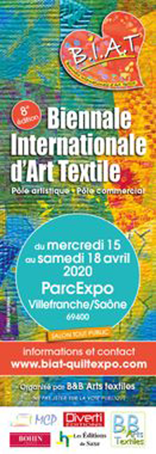 Biennale internationale d'art textile ANNULE