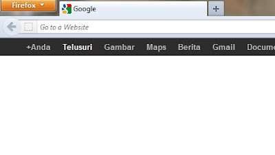 menu bar mozilla firefox