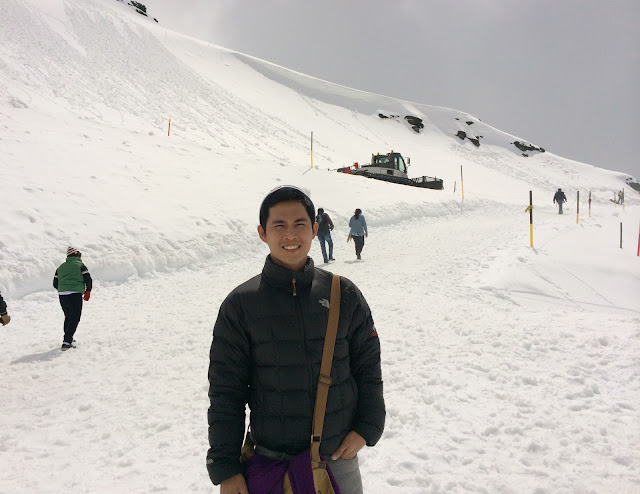 wisata, mount titlis,gunung titlis,salju,swiss,switzerland