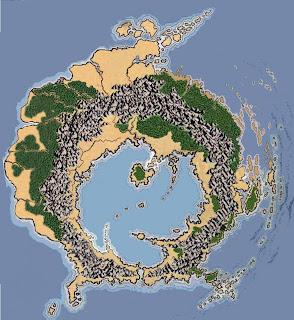 The map of eld Ulthuan (before Sundering) - Warhammer Fantasy ...
