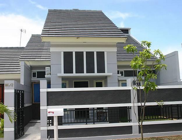 Contoh gambar pagar rumah minimalis Indah dan Mewah