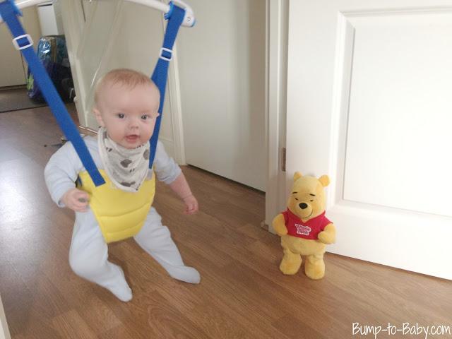 dancing pooh tomy