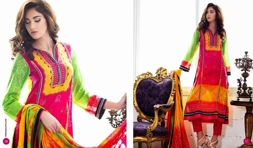 Firdous summer lawn dresses for women