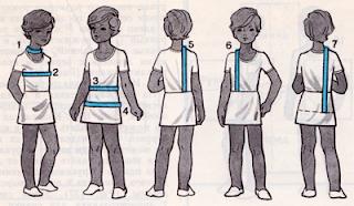 Построение выкройки прямого силуэта для вязаного изделия. Как снять мерки для построения выкройки?
