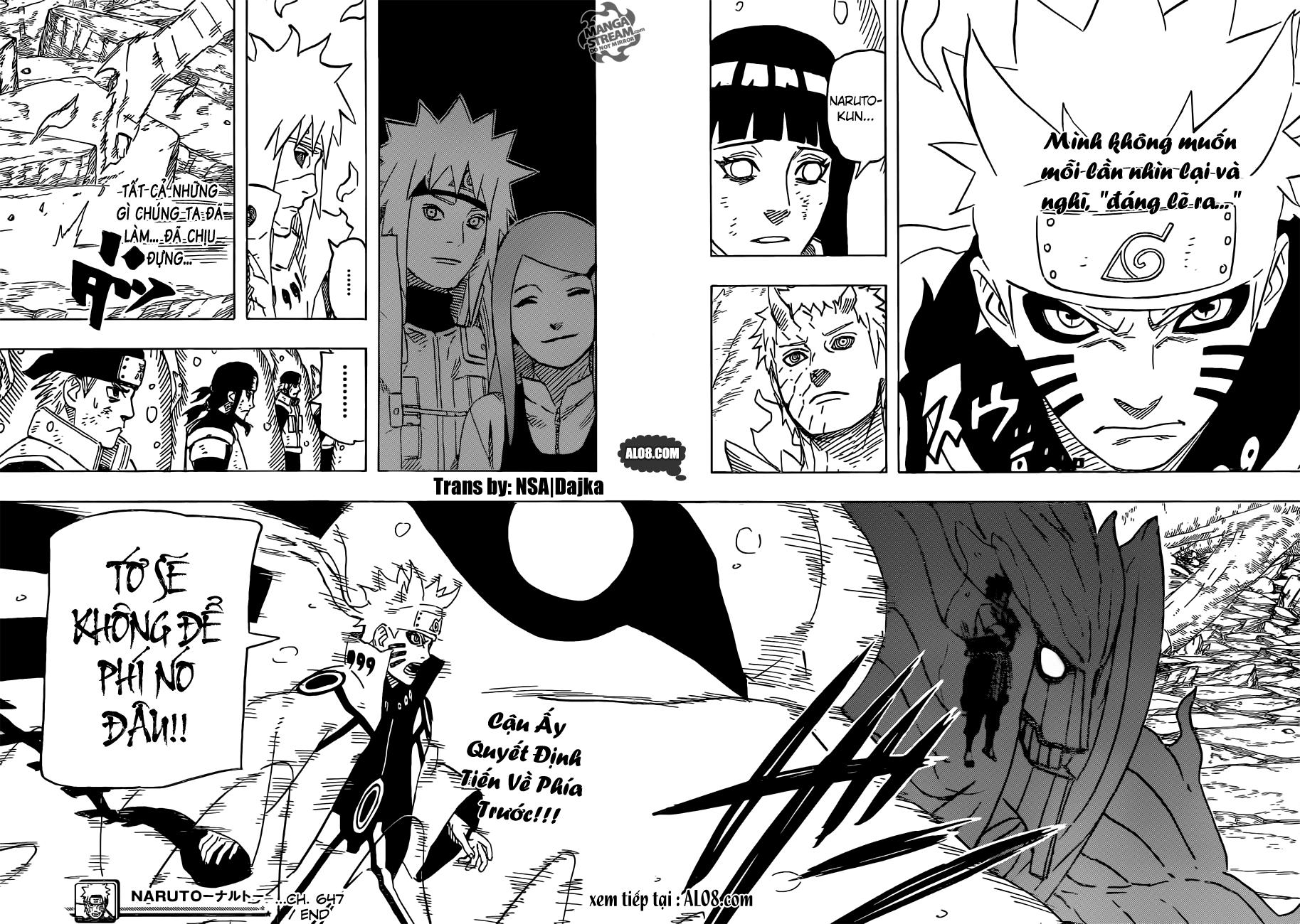 Naruto chap 647 Trang 19