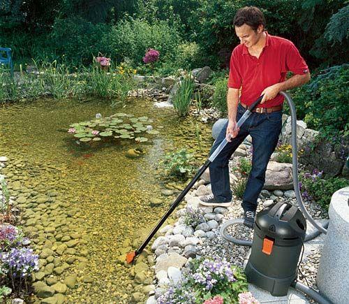 Vijver schoonmaken tuin 2018 for Filter vijver schoonmaken