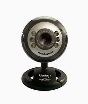 Snapdeal : Quantum 495 Lm Web Camera (With 6 Lights & 25 Megapixel) at Rs.319 : Buy To Earn