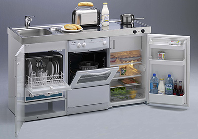 Espacios interiores cocinas compactas for Cocinas interiores