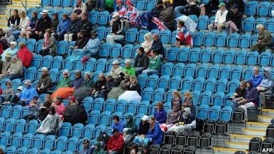 foto de asientos vacios en las olimpiadas 2012