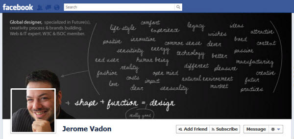 jerome vadon facebookfever Amazing Creative Facebook Timeline Covers