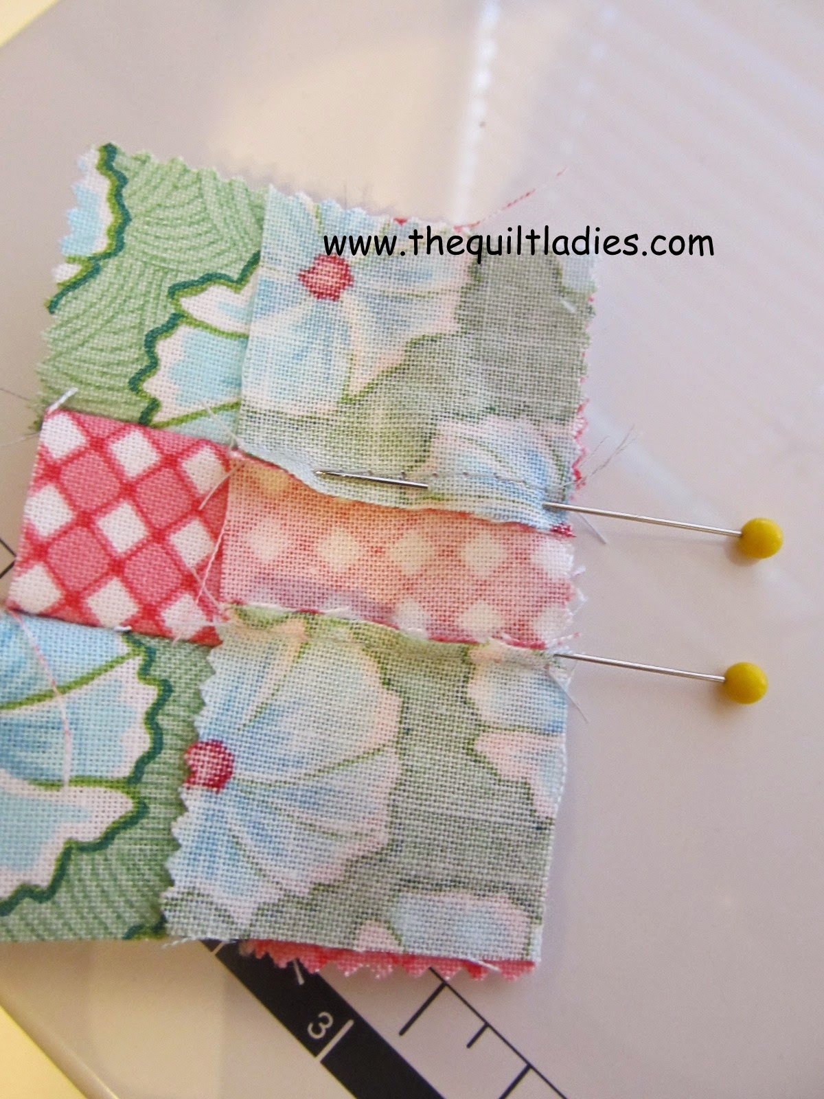 How to make a 9-Patch Table Topper Quilt Pattern and Tutorial