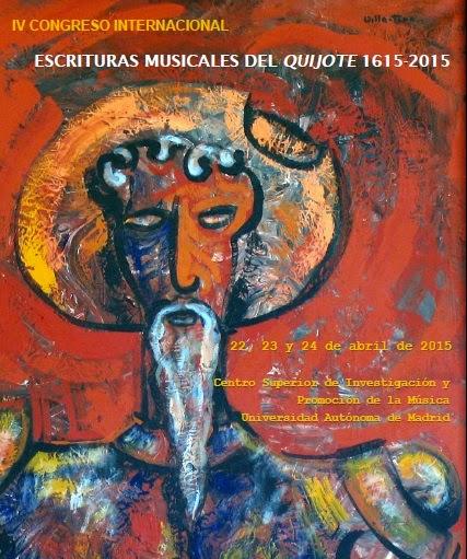 Escrituras Musicales del Quijote (1615-2015)