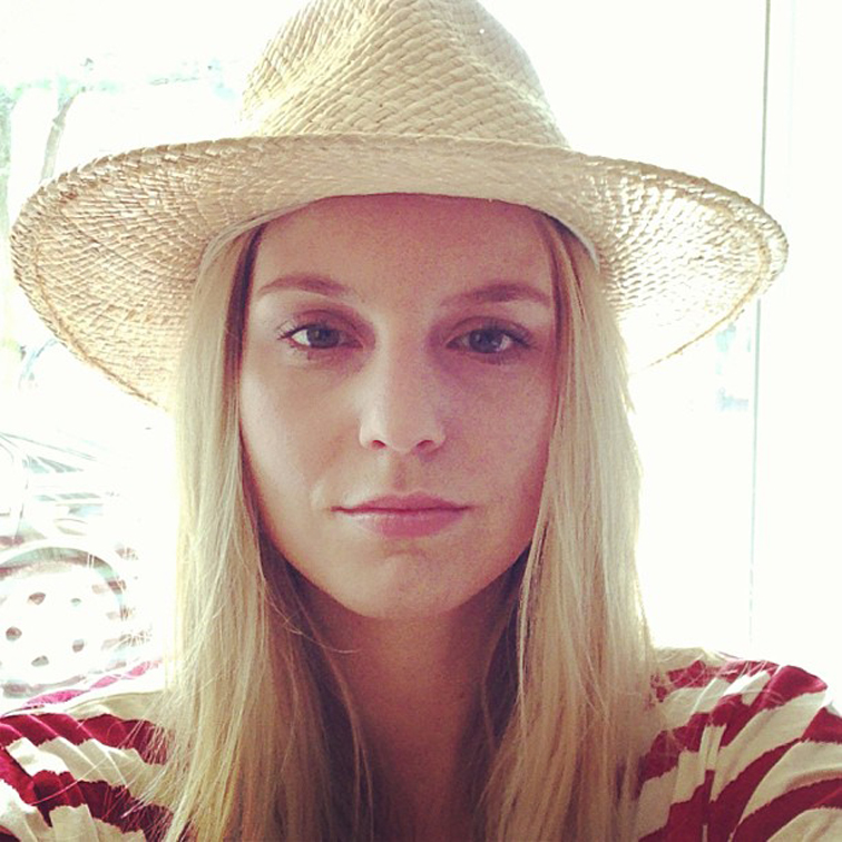 Straw Hat Red Stripes Summer