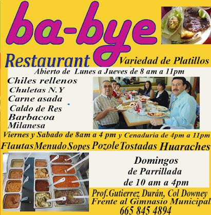 Restaurant Ba Bye