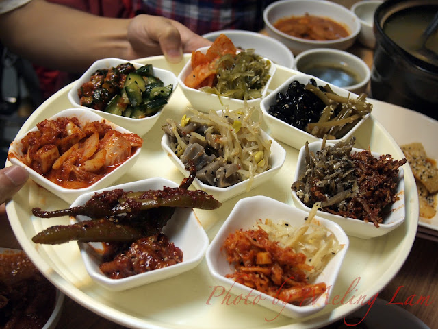 元朗 韓之美食 韓國餐廳 住家菜 korean 人參雞湯 豬頸肉 炒年糕