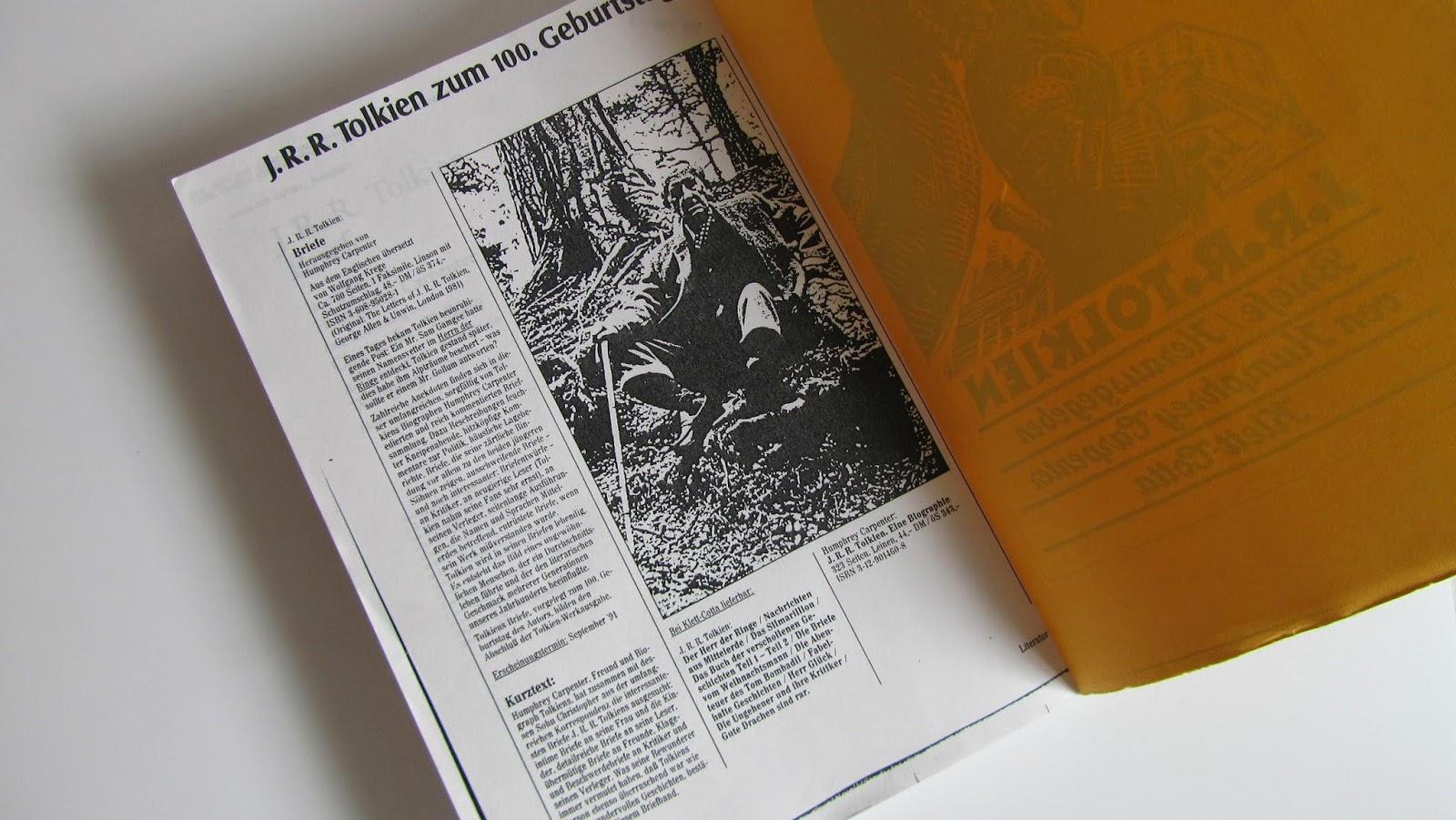 Briefe Von Tolkien : Tolkien collection briefe