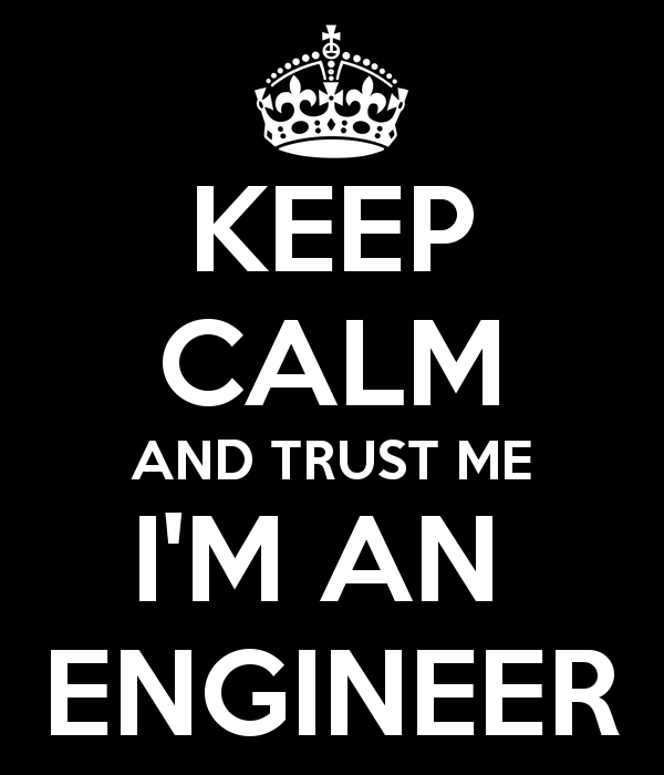 Engineer-to-be.