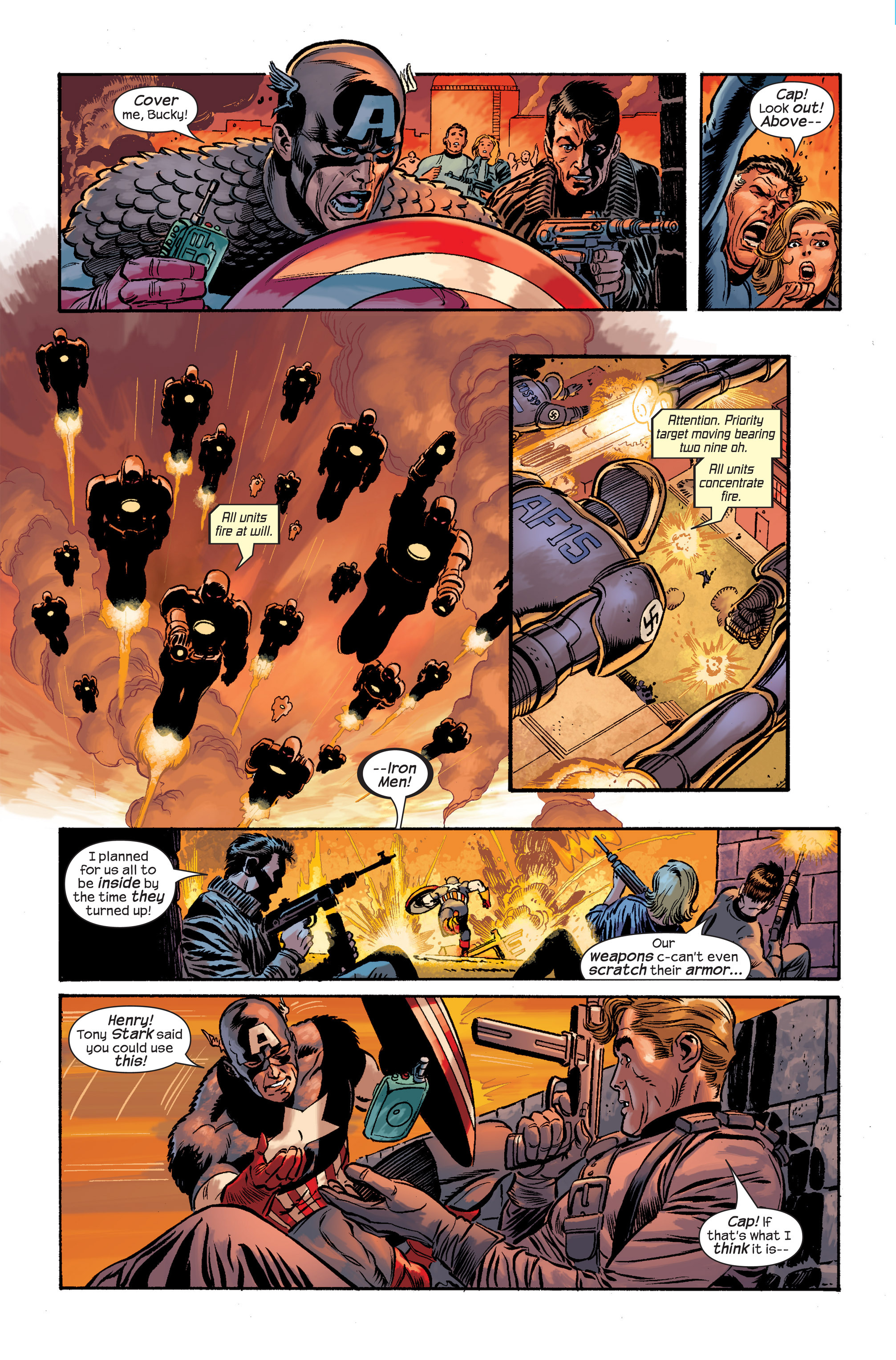 Captain America (2002) Issue #20 #21 - English 5