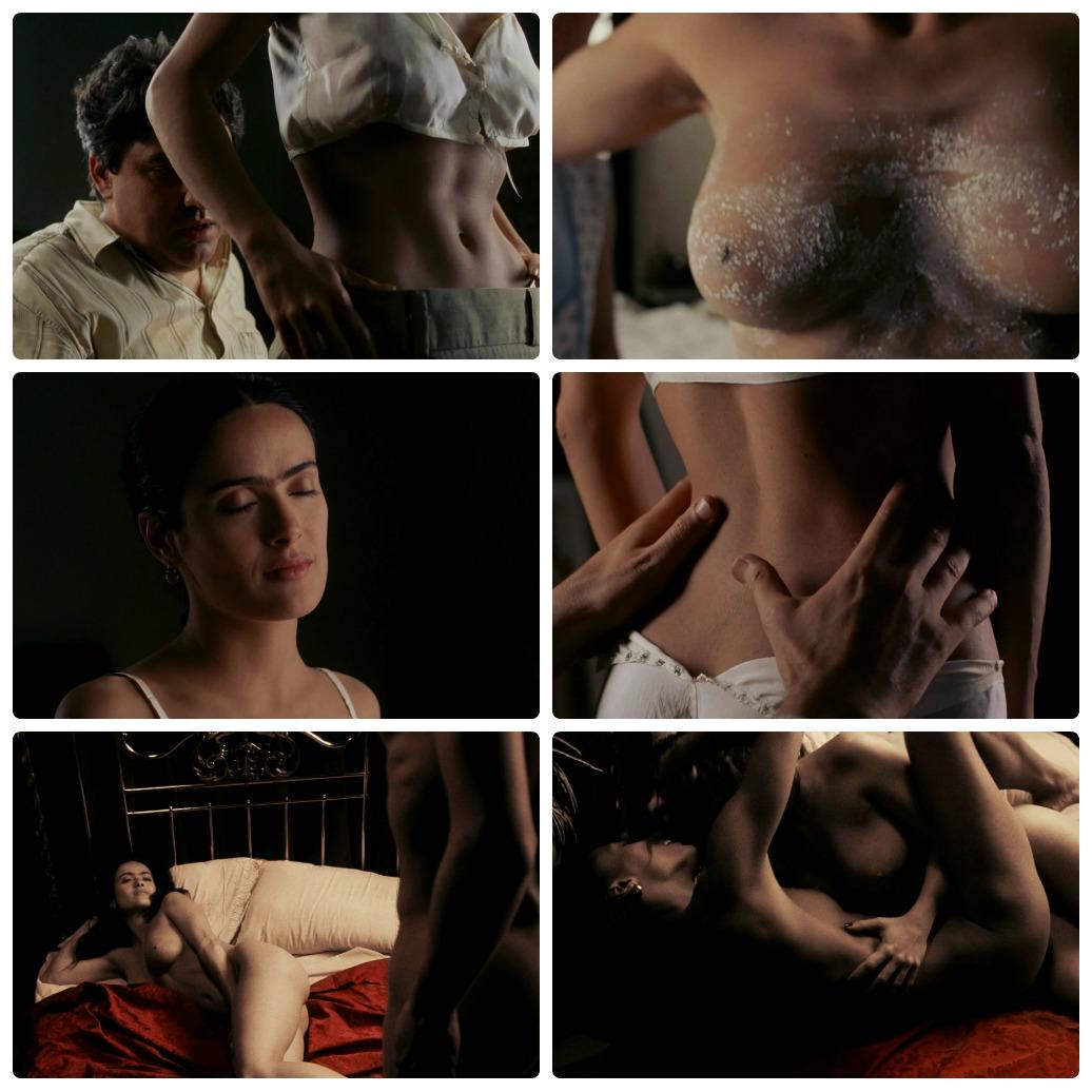 Salma Hayek nackt, Oben ohne Bilder, Playboy Fotos,