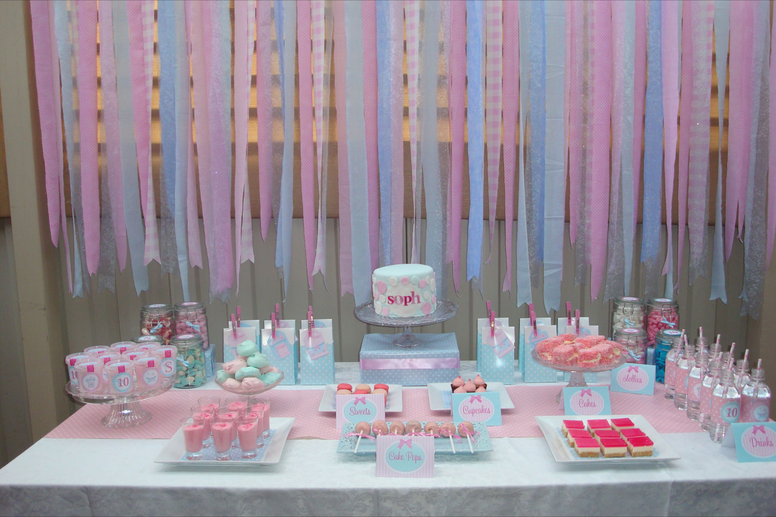Pamper Party Cake Images : MON TRESOR: Sweet Table Contest Submission, Round 2