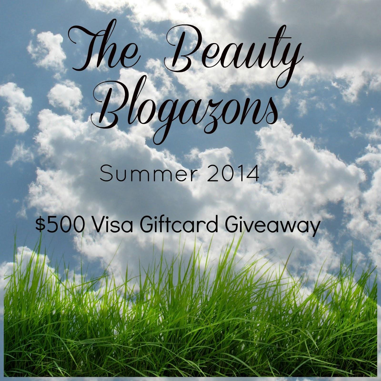 Beauty Blogazons Summer 2014 Giveaway