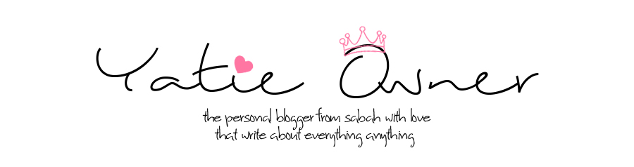 YatieOwner | The Blogger