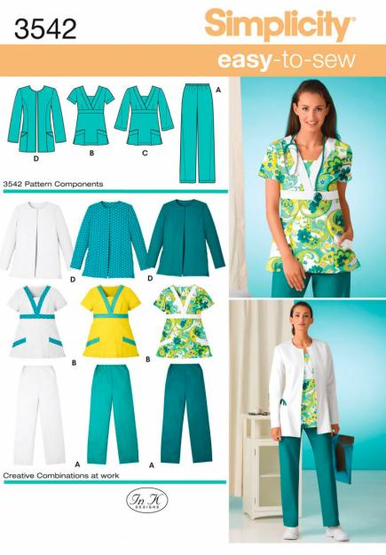 Seams Sustainable What To Sew Now Amazing Scrub Top Patterns