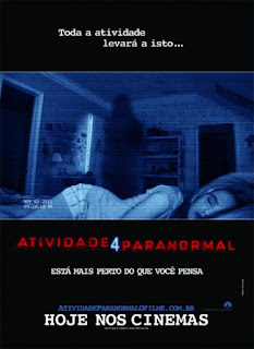 """Poster do filme """"Atividade Paranormal 4"""""""