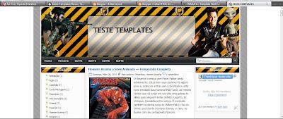 Template header Editavel Blogger