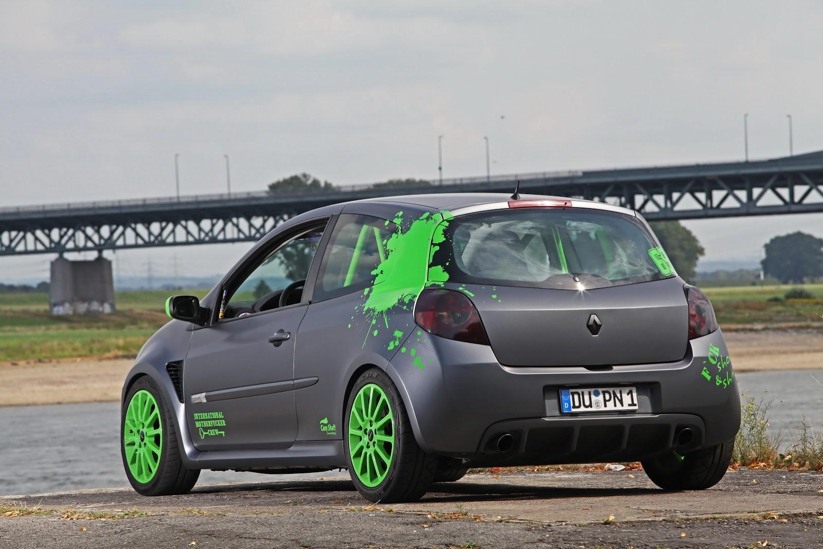 Renault clio rs by cam shaft car tuning styling