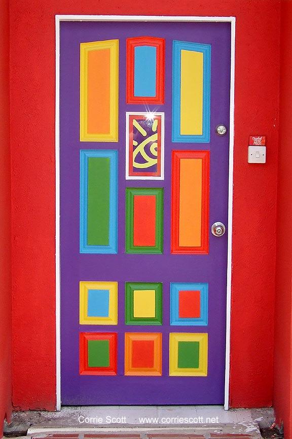 Prettiest Door In Barbados Caribbean Serendipity