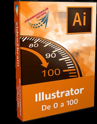 VIDE02BRAIN: Illustrator De 0 a 100 (2014), curso ilustrador adobe, descargar mega, gratis full,