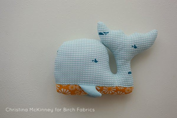 birchfabrics: Free Pattern | Whale Of A Time Plushie | by Christina ...