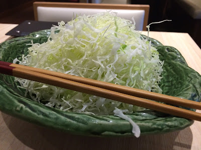 Cabbage at Saboten Tonkatsu Singapore